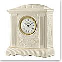 Belleek China Mantel Clock 1997 - 2007, Limited Edition of 850