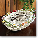 Belleek China Masterpiece Queen's Royal Gift Basket
