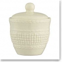 Belleek China Galway Weave Sugar Bowl