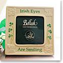 Belleek China Irish Eyes Are Smiling Picture Frame