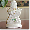 Belleek Shamrock Choir of Angels Harp Figurine