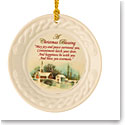 Belleek 2018 Christmas Blessing Ornament