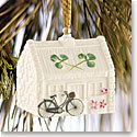 Belleek China Nells Cottage Ornament