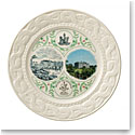 Belleek China 160th Anniversary Plate 2007 - 2017, Limited Edition of 1,250