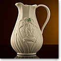 Belleek Trademark Pitcher, Limited Edition
