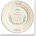 Belleek Celebration 25th Anniversary Plate