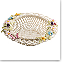 Belleek Catalina Round Basket