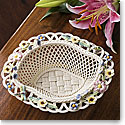 Belleek Living Summer Flowers Basket