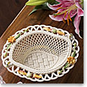 Belleek Living Autumn Flowers Basket