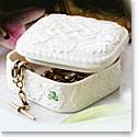 Belleek China Love Knot Trinket Gift Box