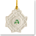 Belleek China Celtic Knot Ornament
