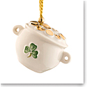 Belleek China Pot of Gold 2019 Ornament