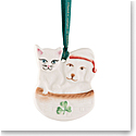 Belleek Christmas Buddies 2020 Ornament