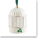 Belleek Mussenden Temple 2021 Annual Bell Ornament
