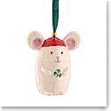 Belleek 2021 Not a Creature Stirring Mouse Ornament