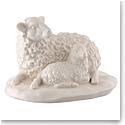 Belleek Sheep and Lamb Figurine