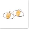 Belleek Living Jewelry Ochre Earrings, Pair