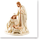 Belleek Living Nativity Holy Family, Small