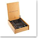 Belleek Flatware Nordica 24 Piece Set with Wooden Box