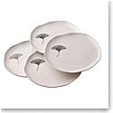 Belleek Living Ginkgo Leaf Dinner Plate Set of 4