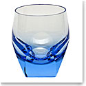 Moser Crystal Bar DOF Tumbler, Aquamarine, Single