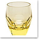 Moser Crystal Bar DOF Tumbler, Eldor Yellow, Single