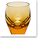Moser Crystal Bar DOF Tumbler, Topaz, Single
