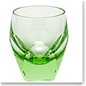 Moser Crystal Bar Shot Glass 1.5 Oz. Ocean Green