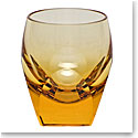Moser Crystal Bar Shot Glass 1.5 Oz. Topaz
