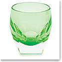 Moser Bar Shot Glass Green, Single