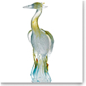 Daum Heron Sculpture