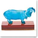 Daum Hippopotamus Sculpture