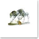 Daum Love Horses, Limited Edition Sculpture