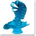 Daum Masque de Verre by Jean Faucheur, Limited Edition Sculpture