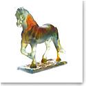 Daum Hadrien Horse by Jean-Francois Leroy, Limited Edition Sculpture