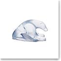 Daum Polar Bear Sculpture