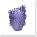 Daum Arum Large Vase in Ultraviolet