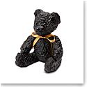 Daum Black Doudours, Teddy Bear by Serge Mansau, Limited Edition Sculpture