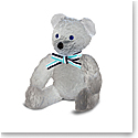 Daum Grey Doudours, Teddy Bear by Serge Mansau, Limited Edition Sculpture