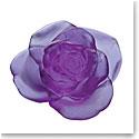 Daum Rose Passion Decorative Flower in Ultraviolet