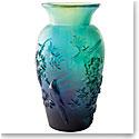 Daum Winter Vase by Shogo Kariyazaki, Limited Edition