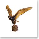 Daum the Hawk Flight by Madeleine van der Knoop, Limited Edition Sculpture