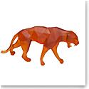 Daum Wild Panther in Orange by Richard Orlinski, Limited Edition Sculpture