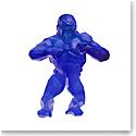 Daum Wild Kong in Blue by Richard Orlinski, Limited Edition Sculpture