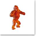 Daum Wild Kong in Orange by Richard Orlinski, Limited Edition Sculpture