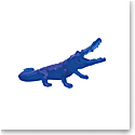 Daum Wild Crocodile in Blue by Richard Orlinski, Limited Edition Sculpture