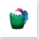 Daum Jungle Vase, Limited Edition