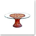 Daum Vegetal Table in Amber