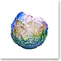 Daum Bouquet Magnum Vase in Rainbow Colors, Limited Edition