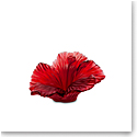 Daum Hibiscus Decorative Flower Sculpture